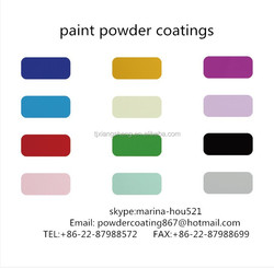 Colors Electrostatic Spray Powder Coating Paint