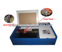 2015 New 40W Co2 Mini/Small Laser Engraving Machine 300*200 mm (Good Quality with CE)