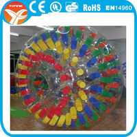 Inflatable aqua zorbing ball for sale