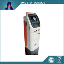 freestanding dual coin operated kiosk with printer and touch screen (HJL-6006)