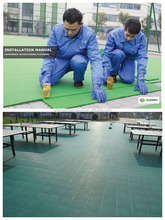 Multi-Purpose Sport Surface Used for Table tennis court