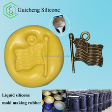 Liquid silicone raw materials for concrete , gypsum, handicrafts mold making