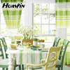 hot selling arab style woven kinting kitchen curtains fabric
