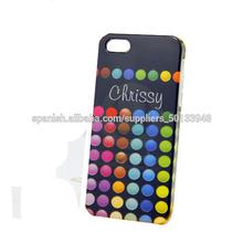 2014 al por mayor precio de fábrica Para el iphone 5 caso nuevo teléfono de diseño de maquillaje