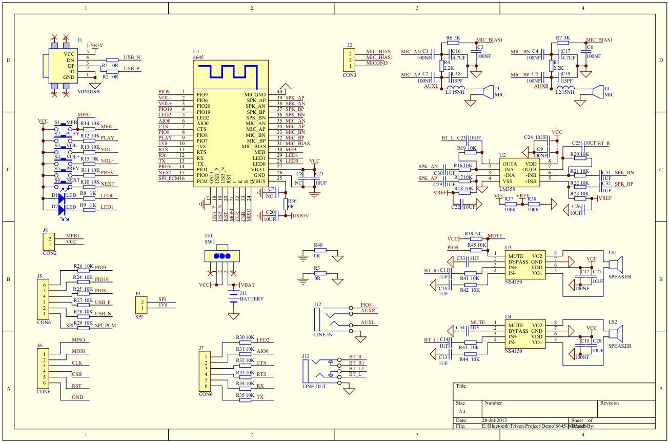 Csr8645 datasheet