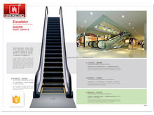 Bolt brand residential and commercial electric escalator with great passenger carrying capacity