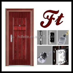 china new model best price cheap strong exterior carved steel door high quality steel security doors