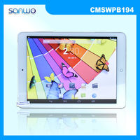 Free Shipping Tablet PC Factory Price MTK8382 Quad Core 1.2GHZ 1024*768 IPS Screen 9.7 inch PC Tablet CMSWPB194
