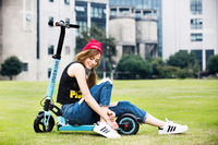 Professional Seller 18650 Samsung Battery Mini Scooter Electric Motor Vehicle