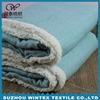 multifunctional printed one side anti-pilling polar fleece blanket fabric
