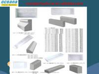 Pavers plastic moulds to cast concrete pavers