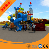 Plastic kids outdoor play center Wenzhou manufactured (XJ125A)