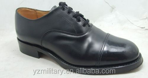 Top-grade leather men dress Shoe low cut
