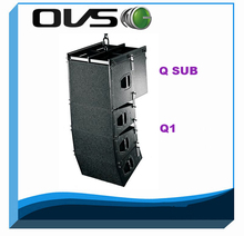 Q1 line array+2015 new products+passive dual 10inch line array for sound system