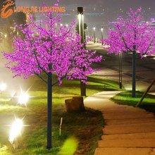 hot led tree light holiday decoration landscape light christmas tree card light