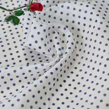 shaoxing textile 100% egyptian cotton fabric 100% cotton fabric printedred and white polka dot dress
