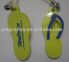 soft pvc keychain of shoes