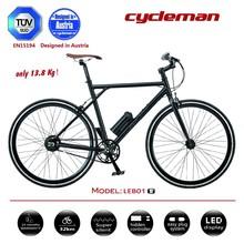 CYCLEMAN 13kg single gear / fixie E-bike / road bike looking for exclusive dealers