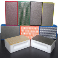KGS Jewelry hand sanding pad china supplier hardware abrasive tools for glass ceramic porcelain marble