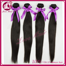 7A top quality unprocessed indian temple hair machine made goddess remi hair extension