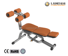 !!!LAND brand body crunch bench for fitness equipment commercial
