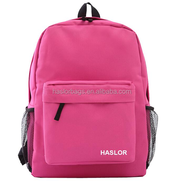 Fabricant mode meilleur université sac à dos pour adolescent