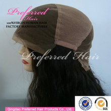 Hot Sale Peruvian human hair wig with stretch from ear to ear accept Escrow