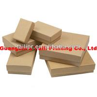 Wholesale brwon kraft paper box with lid