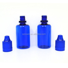 NEW arrival PET bottle with Childproof and tamperproof cap seal for e juice/essential oil