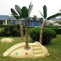 Lawn fiberglass tree outdoor furniture