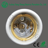 Brass edison screw lamp holder porcelain light shades E27