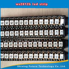 60pcs/m individually control 5050rgb ws2812b ws2811 ic pixel led ws2812b 144 led pixel strip ws2811 led controller