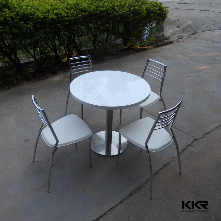 solid surface stone round marble table dinning set buy round marble table dinning set round. Black Bedroom Furniture Sets. Home Design Ideas