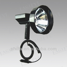 35/55W HID Portable Hunting Spotlight warehouse marine working light hid rechargeable spotlight