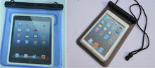 """Factory !! Tavling /swimming 100% waterproof case for ipad mini, waterproof bag ,waterproof case for 7.9"""""""