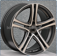high quality wheel rims 4 holes 5 holes, car alloy wheel with different color