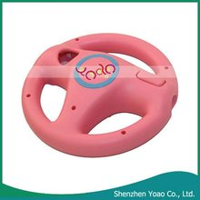 Pink Game Steering Wheel For Wii
