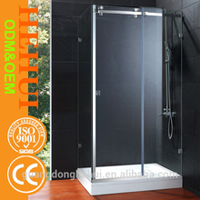 2RC-N126 shower booth and portable house for 3 sides pivot shower enclosure