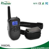 998DRL Fine workmanship low price electronic remote dog training collar