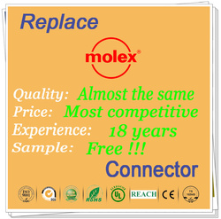 Manufacturing 3.0mm pitch molex 43025 43020 wafer connector with 18 years experience