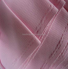 polyester rectangle birdeyes knit fabric for sports wear