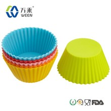 silicone cup cake cookie cup/silicone cup cake supplier