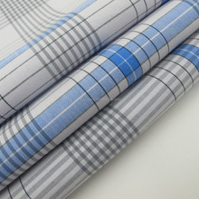 100 Cotton yarn dyed check fabric textile prices for shirt