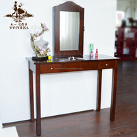 wall mounted dressing table