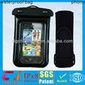 saco do telefone impermeável braço de banda de pvc para iphone4