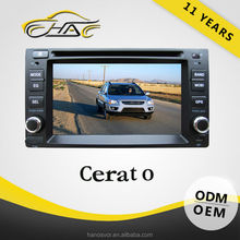 Special For Cerato Touch Screen Car DVD Player Built In GPS/ Bluetooth/ With Rear-view Camera/ SD Card