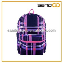 Fashion fancy youth school backpack, girls daily backpack