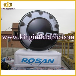 New Design Giant Inflatable Tire Balloon Advertising Inflatable Model Product