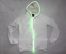 new arrivals 2014 mens fashion flashing led light hoodies clothing