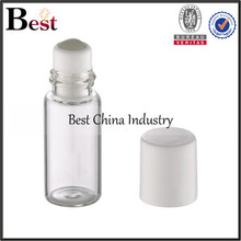 10ml 12ml 15ml clear bottle with roll ball for essential oil glass e liquid bottle 10ml
